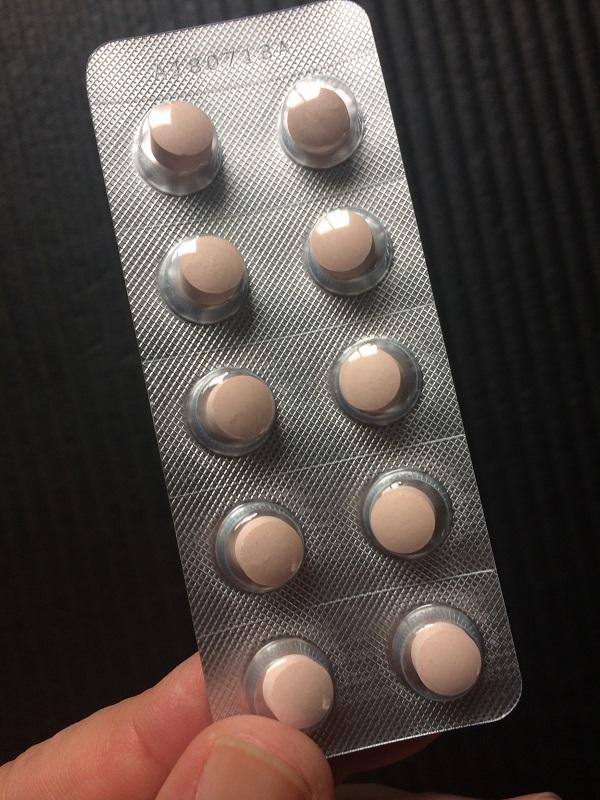 皇潤極の錠剤
