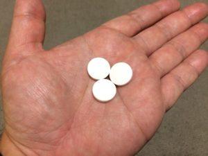 ニッスイかんで食べるグルコサミン1日3粒